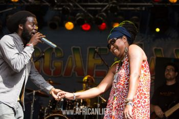 Iba Mahr @ Reggae Jam 2013, Video, Photos